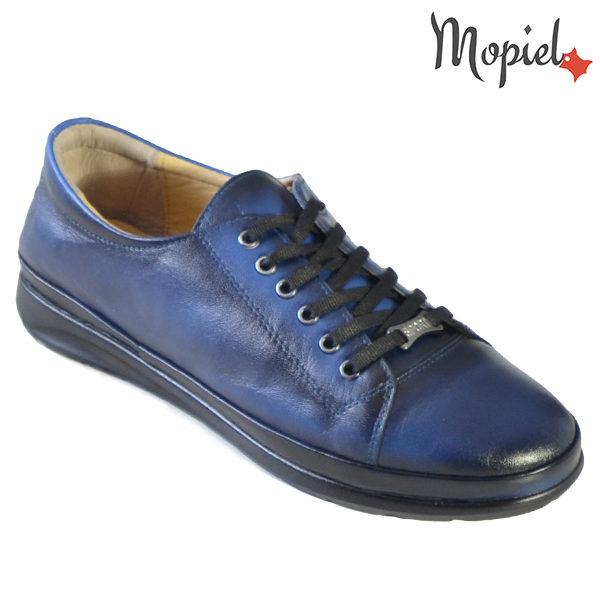 Pantofi dama, din piele naturala 231116 Bleumarin Doris incaltaminte ieftina