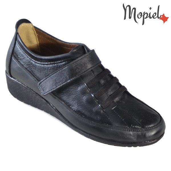 Pantofi dama, din piele naturala 231118 Negru Caliopi incaltaminte dama