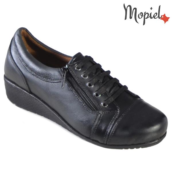 Pantofi dama, din piele naturala 231119 Negru Agata incaltaminte dama