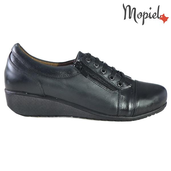 Pantofi dama, din piele naturala 231119 Negru Agata