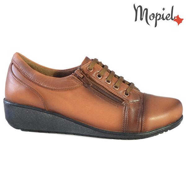 Pantofi dama, din piele naturala 231119 Tabaco Agata