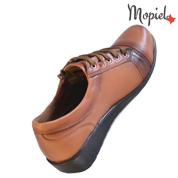 Pantofi dama, din piele naturala 231119 Tabaco Agata incaltaminte ieftina