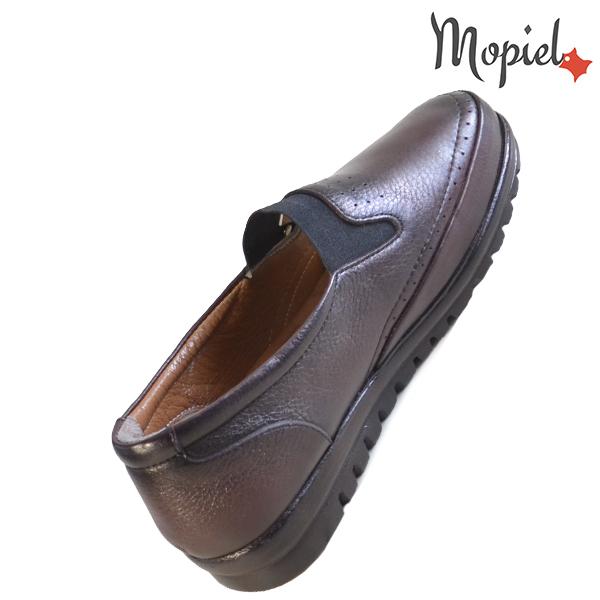 Pantofi dama, din piele naturala 231122 Bordo Fina incaltaminte dama din piele