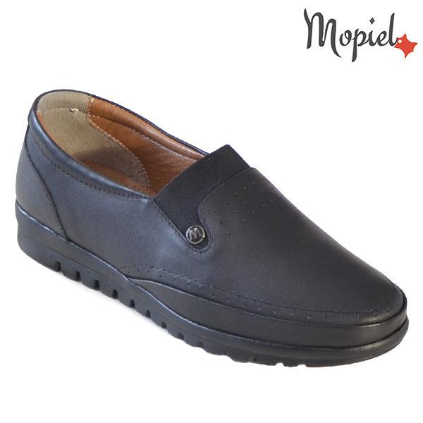 Pantofi dama, din piele naturala 231122 Negru Fina incaltaminte online