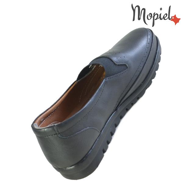 Pantofi dama, din piele naturala 231122 Negru Fina reduceri incaltaminte