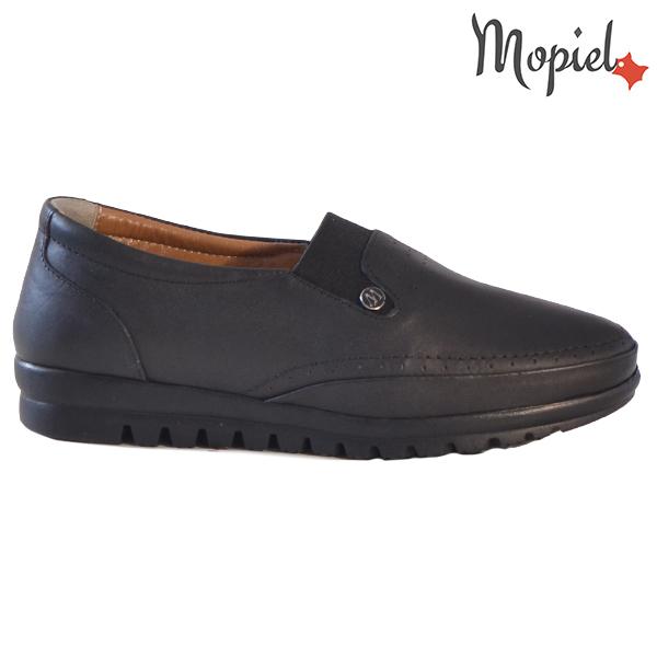 Pantofi dama, din piele naturala 231122 Negru Fina
