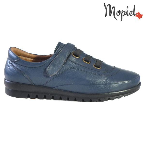 Pantofi dama, din piele naturala 231125 Bleumarin Jana