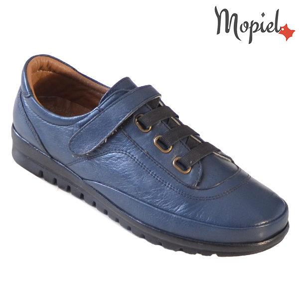 Pantofi dama, din piele naturala 231125 Bleumarin Jana incaltaminte dama