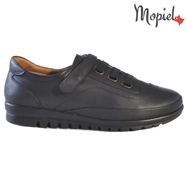 Pantofi dama, din piele naturala 231125 Negru Jana