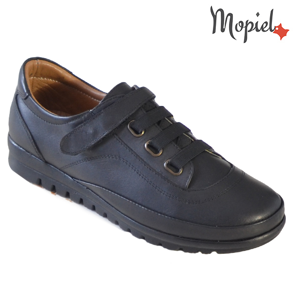 Pantofi dama, din piele naturala 231125 Negru Jana incaltaminte dama