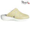 Papuci medicinali din piele naturala 261701 Bej Arabela
