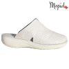 Papuci medicinali din piele naturala 261702 Alb Arabela