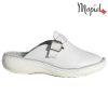 Papuci medicinali din piele naturala 261703 Alb Arabela