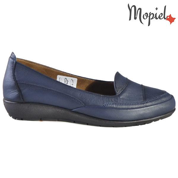 Pantofi dama, din piele naturala 231123 Bleumarin Ines