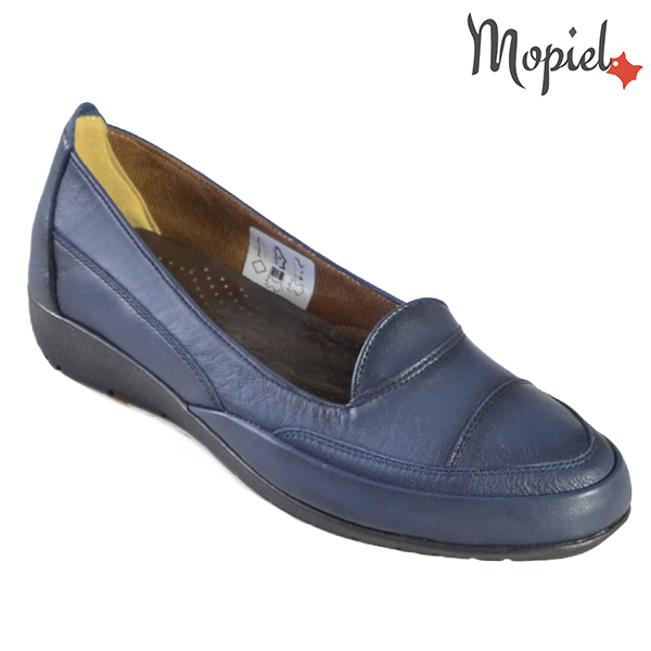 Pantofi dama, din piele naturala 231123 Bleumarin Ines incaltaminte dama