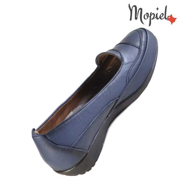 Pantofi dama, din piele naturala 231123 Bleumarin Ines incaltaminte piele