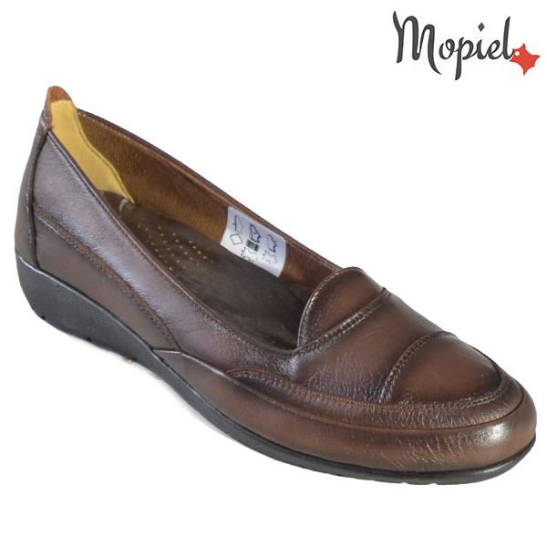 Pantofi dama, din piele naturala 231123 Maro Ines incaltaminte dama
