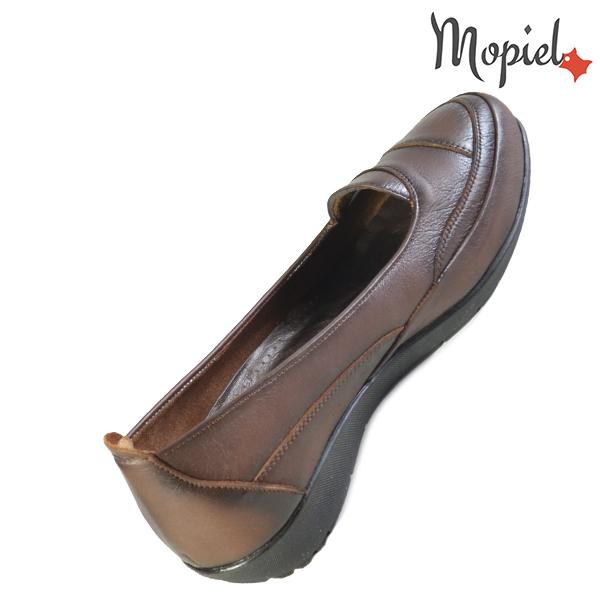 Pantofi dama, din piele naturala 231123 Maro Ines incaltaminte piele