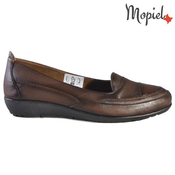 Pantofi dama, din piele naturala 231123 Maro Ines