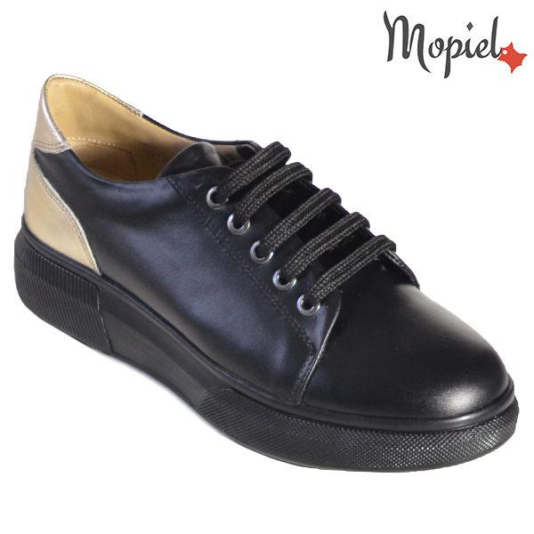 Pantofi dama, din piele naturala 230216 5054 Negru Bronx incaltaminte dama din piele