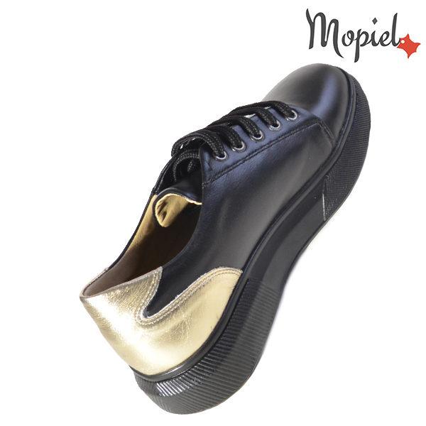 Pantofi dama, din piele naturala 230216 5054 Negru Bronx incaltaminte ieftina