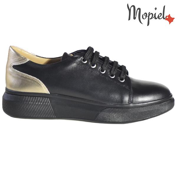 Pantofi dama, din piele naturala 230216 5054 Negru Bronx