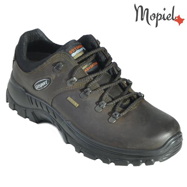Pantofi din piele trekking 310605 10308D104G Maro Joey incaltaminte barbati