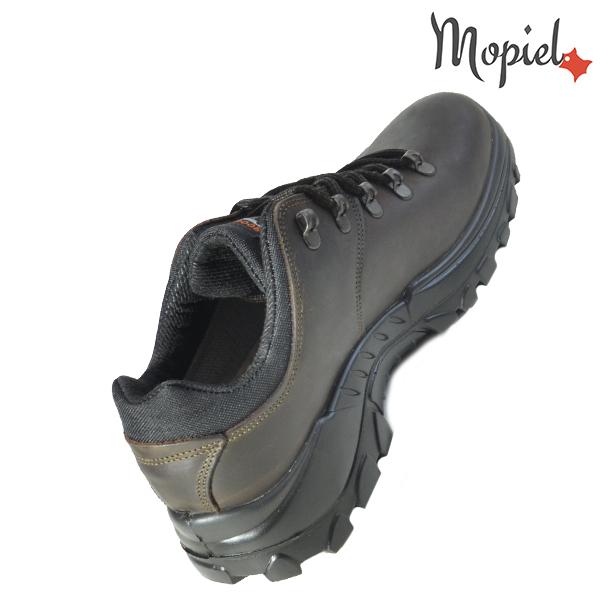 Pantofi din piele trekking 310605 10308D104G Maro Joey incaltaminte ieftina