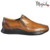 Pantofi barbati, din piele naturala U1320210 Tabaco Andru