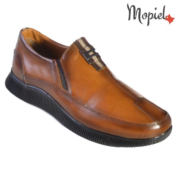 Pantofi barbati, din piele naturala U1320210 Tabaco Andru incaltaminte barbati din piele