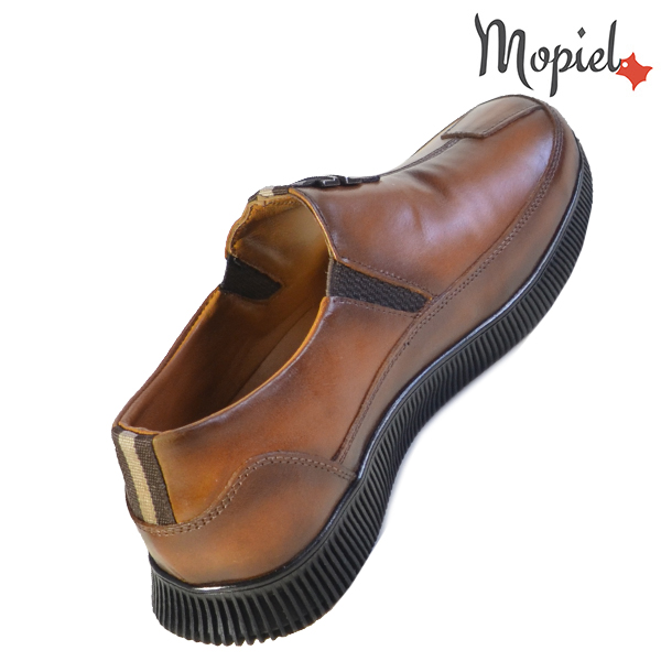 Pantofi barbati, din piele naturala U1320210 Tabaco Andru incaltaminte piele
