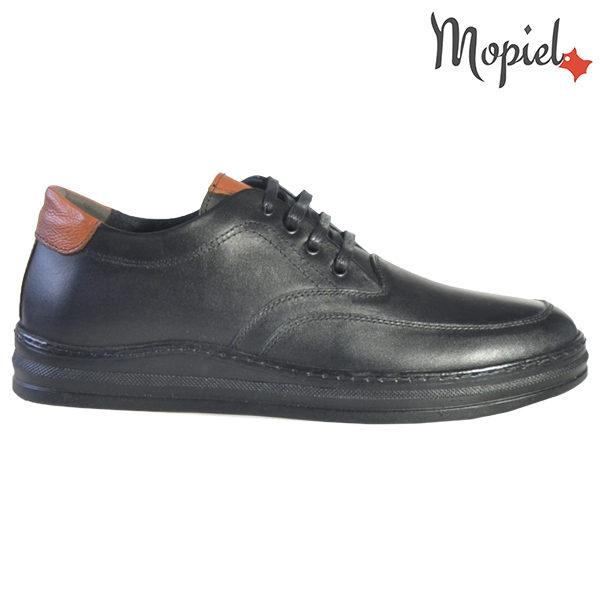 Pantofi barbati, din piele naturala U1320212 Negru Arran