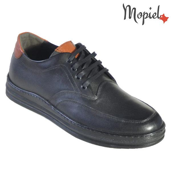 Pantofi barbati, din piele naturala U1320212 Negru Arran incaltaminte barbati