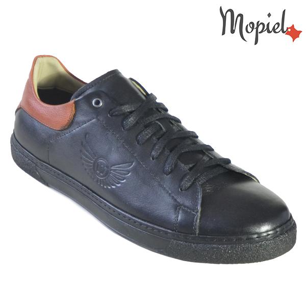 Pantofi barbati, din piele naturala U1320216 Negru Clement incaltaminte barbati din piele