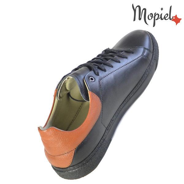 Pantofi barbati, din piele naturala U1320216 Negru Clement reduceri incaltaminte