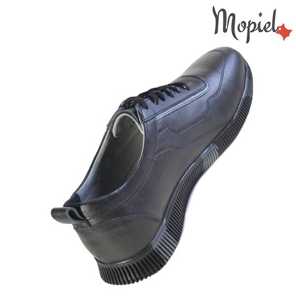 Pantofi barbati, din piele naturala U1320217 Negru - Gri Costa incaltaminte barbati