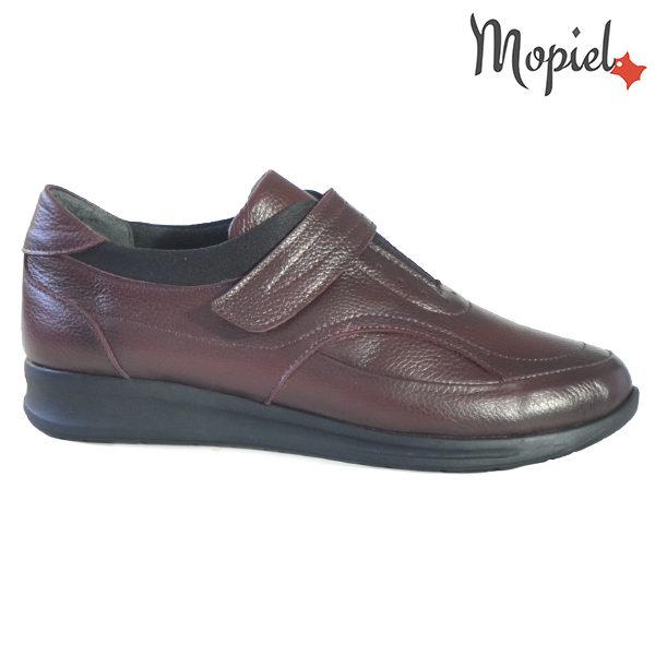 Pantofi dama din piele naturala 2320210 Visiniu Sofia