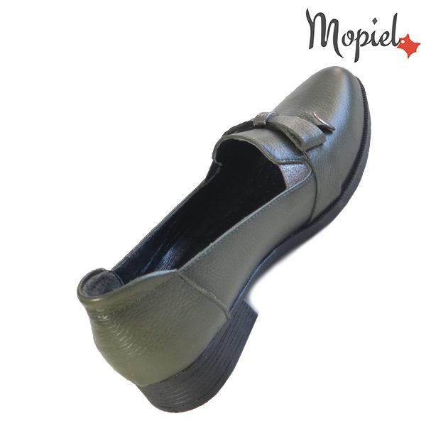 Pantofi dama din piele naturala 2320212 Verde Ilinca reduceri incaltaminte dama
