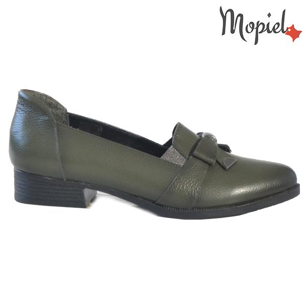 Pantofi dama din piele naturala 2320212 Verde Ilinca