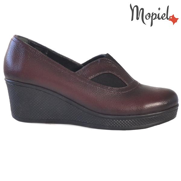 Pantofi dama din piele naturala 2320213 Visiniu Paula