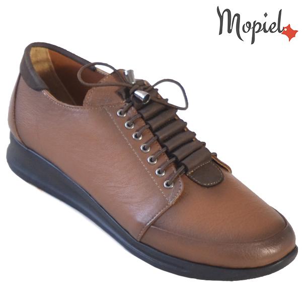 Pantofi dama din piele naturala 2320218 Maro Ivona incaltaminte dama
