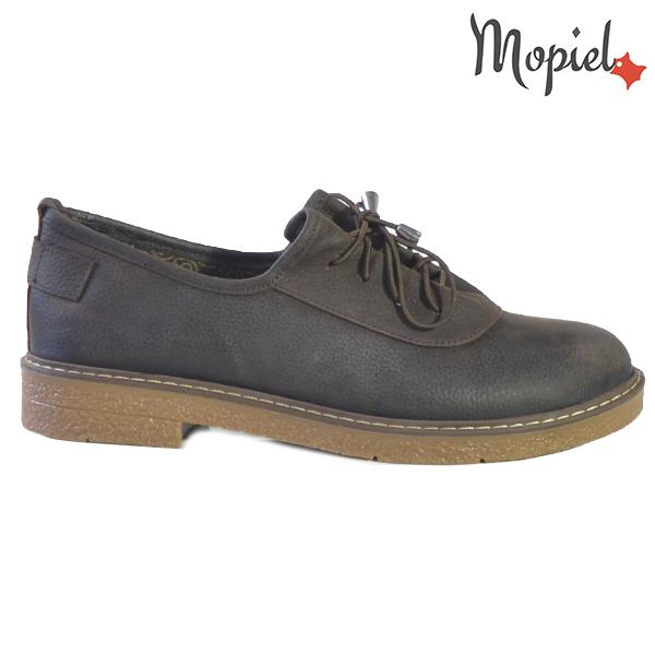 Pantofi dama din piele naturala 2320219 Maro Zoe  - Pantofi dama din piele naturala 2320219 Maro Zoe - Pantofii Oxford