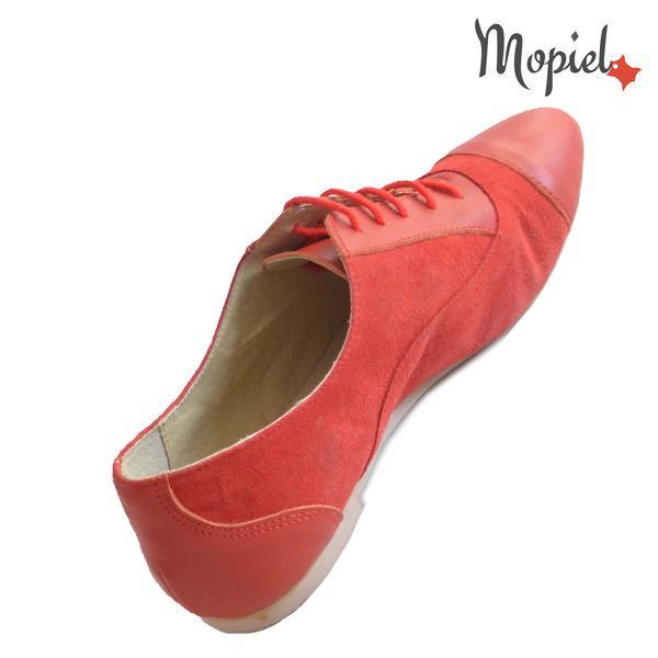 Pantofi dama din piele naturala 23308 Rosu Christa incaltaminte piele