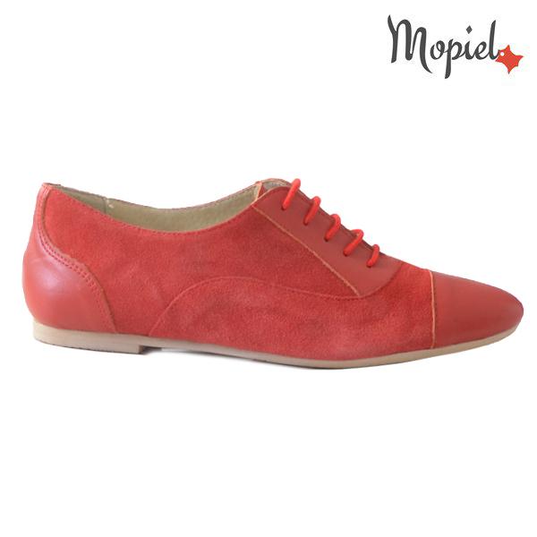 Pantofi dama din piele naturala 23308 Rosu Christa