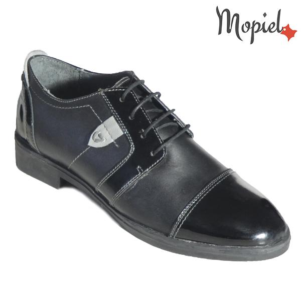 Pantofi dama din piele naturala 23801 Negru Dana incaltaminte fashion