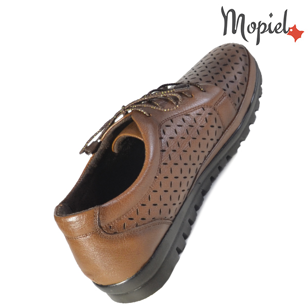 Pantofi dama din piele naturala 238303 Maro Mari incaltaminte online