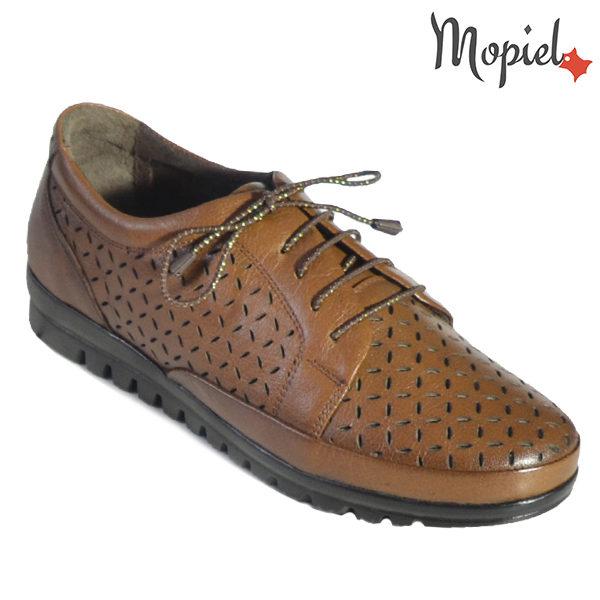 Pantofi dama din piele naturala 238303 Maro Mari pantofi dama