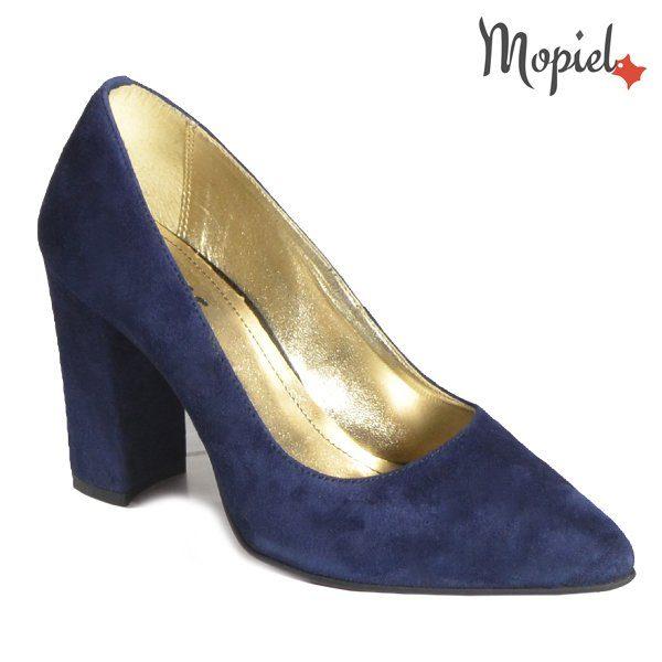 pantofi cu toc - Pantofi dama din piele naturala 242904 1900 Cam Blue Caliope incaltaminte mopiel - Tocurile Inalte si … Problemele de sanatate