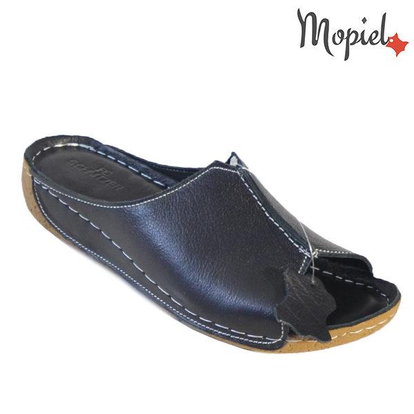 pantofi cu toc - Papuci dama din piele naturala 261102 Negru Nicole incaltaminte dama 600x600 - Tocurile Inalte si … Problemele de sanatate