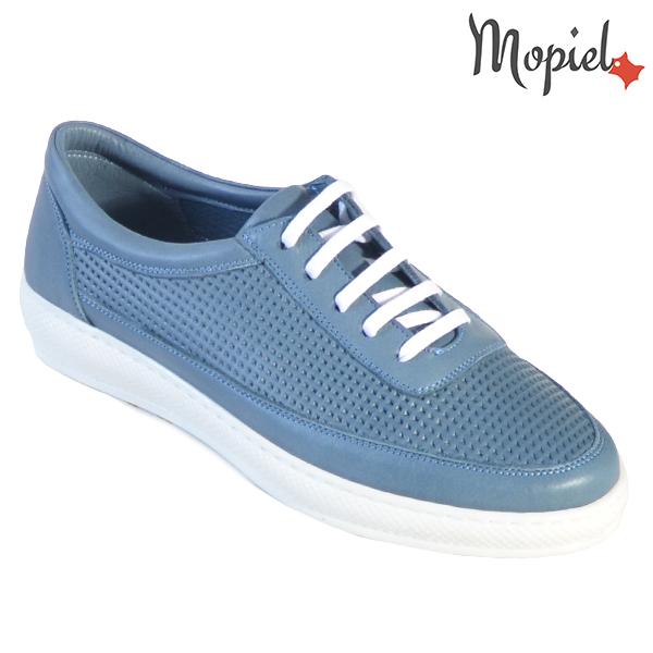 Pantofi dama, din piele naturala 202101 18-SP861 Blue Jessica incaltaminte dama